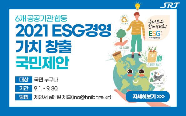2021 ESG경영 가치 창출 국민 제안